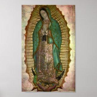 Pictura Dominae Nostrae de Guadalupe print