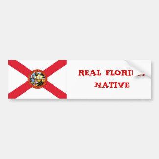 Picture1, NATURAL REAL de la FLORIDA Pegatina Para Auto