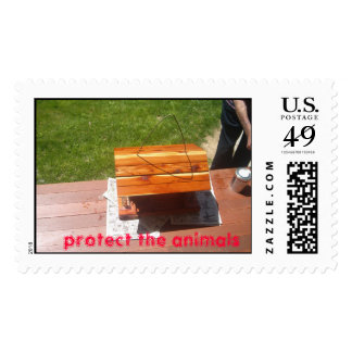 Picture 009, protect the animals stamps