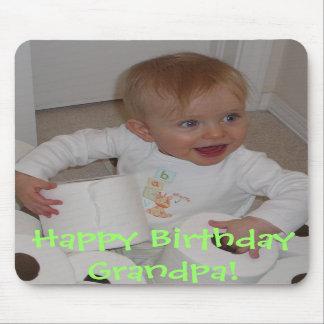 Picture 014, Happy Birthday Grandpa! Mouse Mat