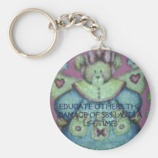 Picture 018, EDUCATE OTHERS,THE DAMAGE OF SBS L... Basic Round Button Keychain