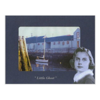 "Picture 113, "" Little Ghost "" - Customized Postcard"