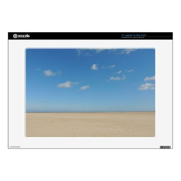 """Beach Themed PICTURE 152 15"""" LAPTOP DECAL"""