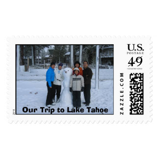 Picture 160, Our Trip to Lake Tahoe Postage
