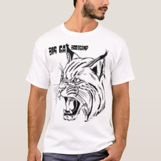 Picture 1, BIG CAT , BOOTCAMP, Cougar Canyon, CA T-Shirt