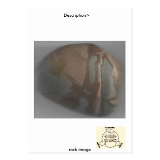 Picture 202, Description> , rock image Large Business Card