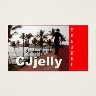 Picture 6, Subscribe to, YOUTUBE Business Card