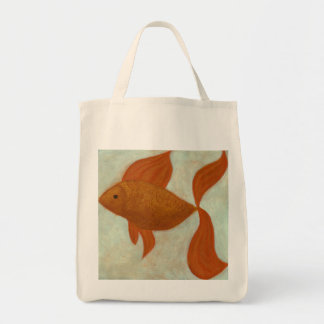 Picture a Tale Fish Organic Grocery Bag