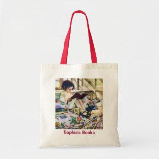 Picture Books in Winter by Jessie Willcox Smith Tote Bag