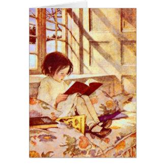 Picture Books in Winter Card