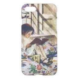 Picture Books in Winter Jessie Willcox Fine Art iPhone 8/7 Case