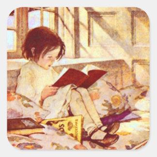 Picture Books in Winter Sticker