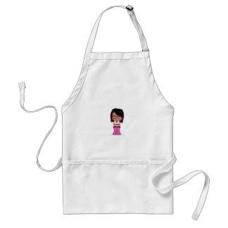 picture buddy poke adult apron