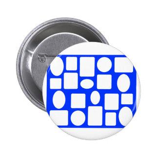 Picture Frame Landscape Blue The MUSEUM Zazzle 2 Inch Round Button