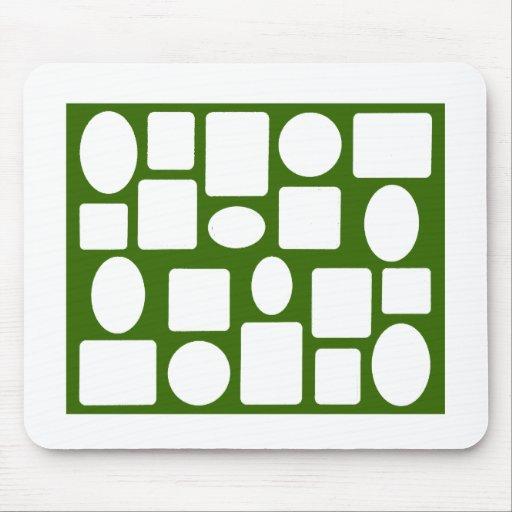 Picture Frame Landscape Green Dk The MUSEUM Zazzle Mouse Pad
