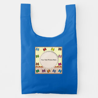 Picture frame with fullcolor butterfly reusable bag