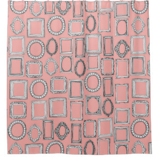 picture frames mimosa shower curtain