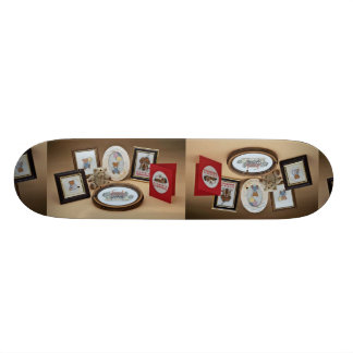 Picture frames skateboard deck