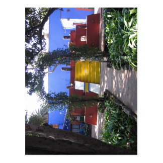 Picture from Frida  s house - The Blue House.  Postcard