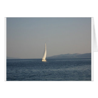 Picture , image Yacht at sea  T-shirts cups, therm Card