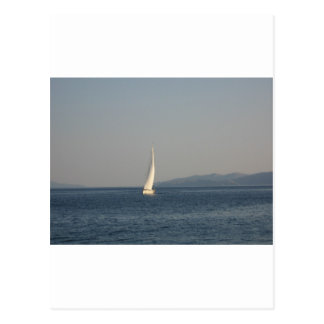Picture , image Yacht at sea  T-shirts cups, therm Postcard