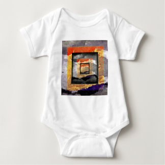 Picture in picture baby bodysuit