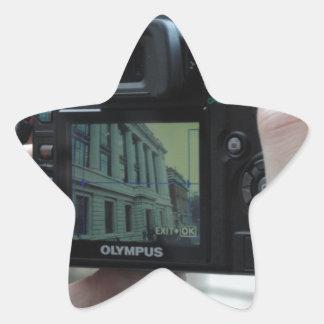 Picture in picture star sticker