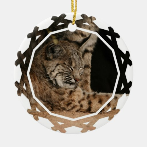 Picture of a Bobcat Ornament