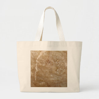 Picture of a Brown Shell. Canvas Bags