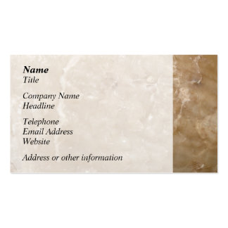 Picture of a Brown Shell. Business Card