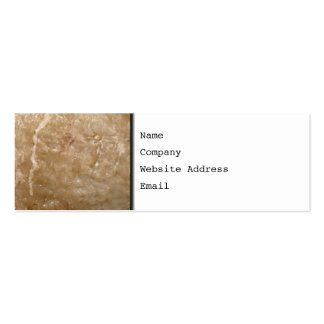 Picture of a Brown Shell Business Card Template