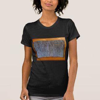 picture of a camo & denim rug tee shirt