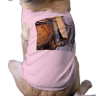 Picture Of A Cowboy Boot Pet Tshirt