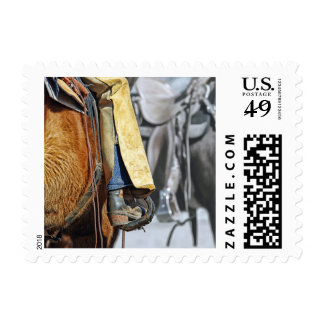 Picture Of A Cowboy Boot Postage Stamps