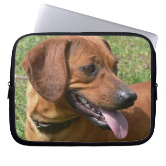 Picture of a Dachshund Dog Electronics Bag Laptop Sleeve
