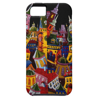 Picture of a paintings at Prague Souvenir Store iPhone SE/5/5s Case