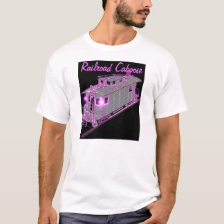 Picture Of A Railroad Caboose T-Shirt