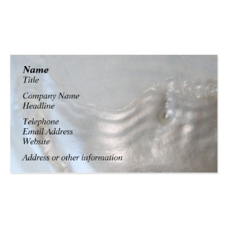 Picture of a Shell Business Card Template