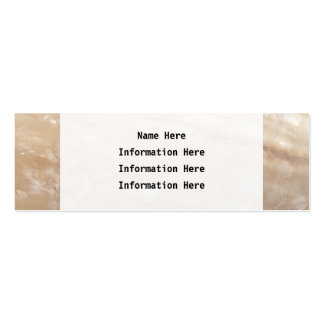 Picture of a shell business card templates