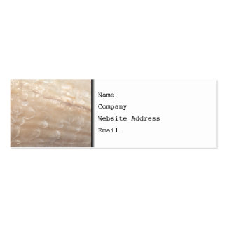 Picture of a shell business card