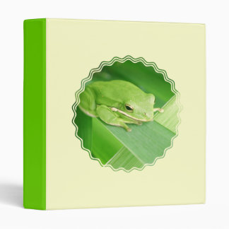 Picture of a Tree Frog Binder