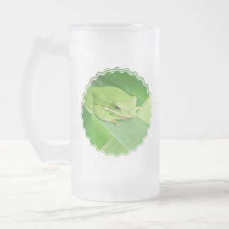 Picture of a Tree Frog Frosted Beer Mug