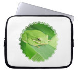 Picture of a Tree Frog Notebook Sleeve Laptop Computer Sleeves