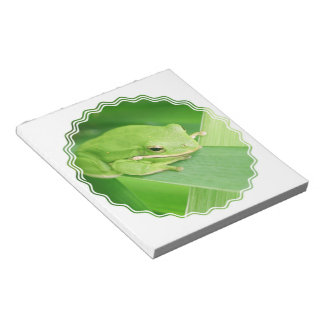 Picture of a Tree Frog Notepad
