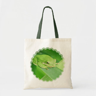 Picture of a Tree Frog Smal Tote Bag
