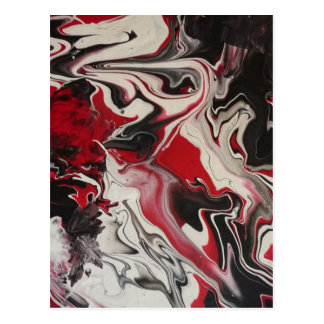 Picture of an Abstract painting by S.B. Eazle Postcard