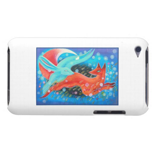 Picture of Animals, A fox and A Hare. Barely There iPod Covers
