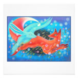Picture of Animals, A fox and A Hare. Personalized Invite