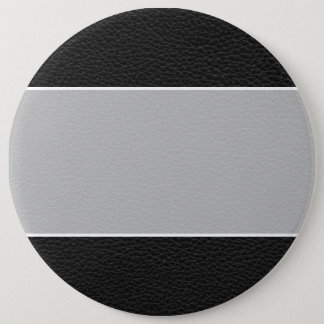 Picture of Black Leather. Button