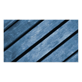 Picture of Blue Wood Planks Business Card